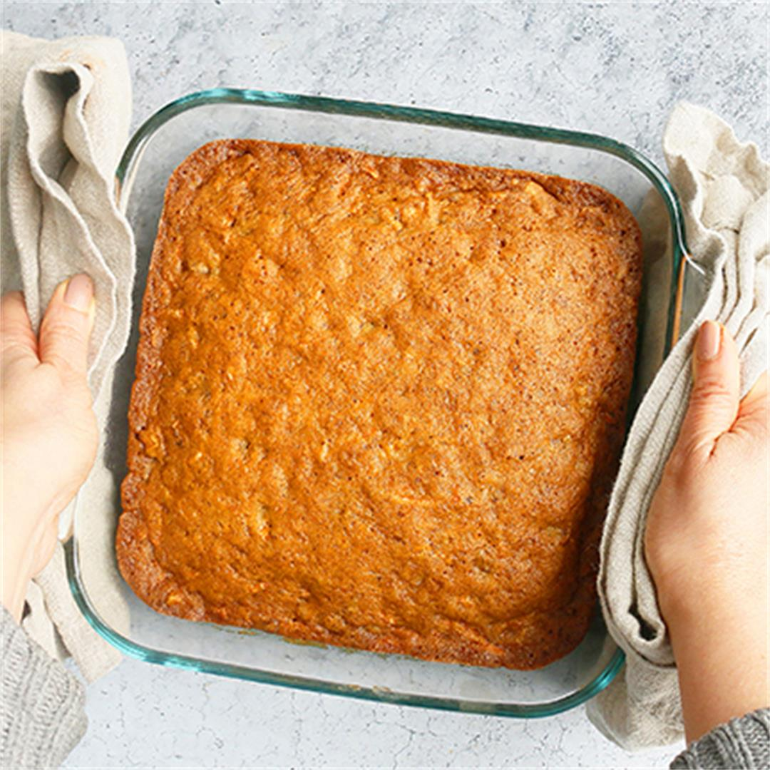 Carrot Walnut Cake (for snacking)