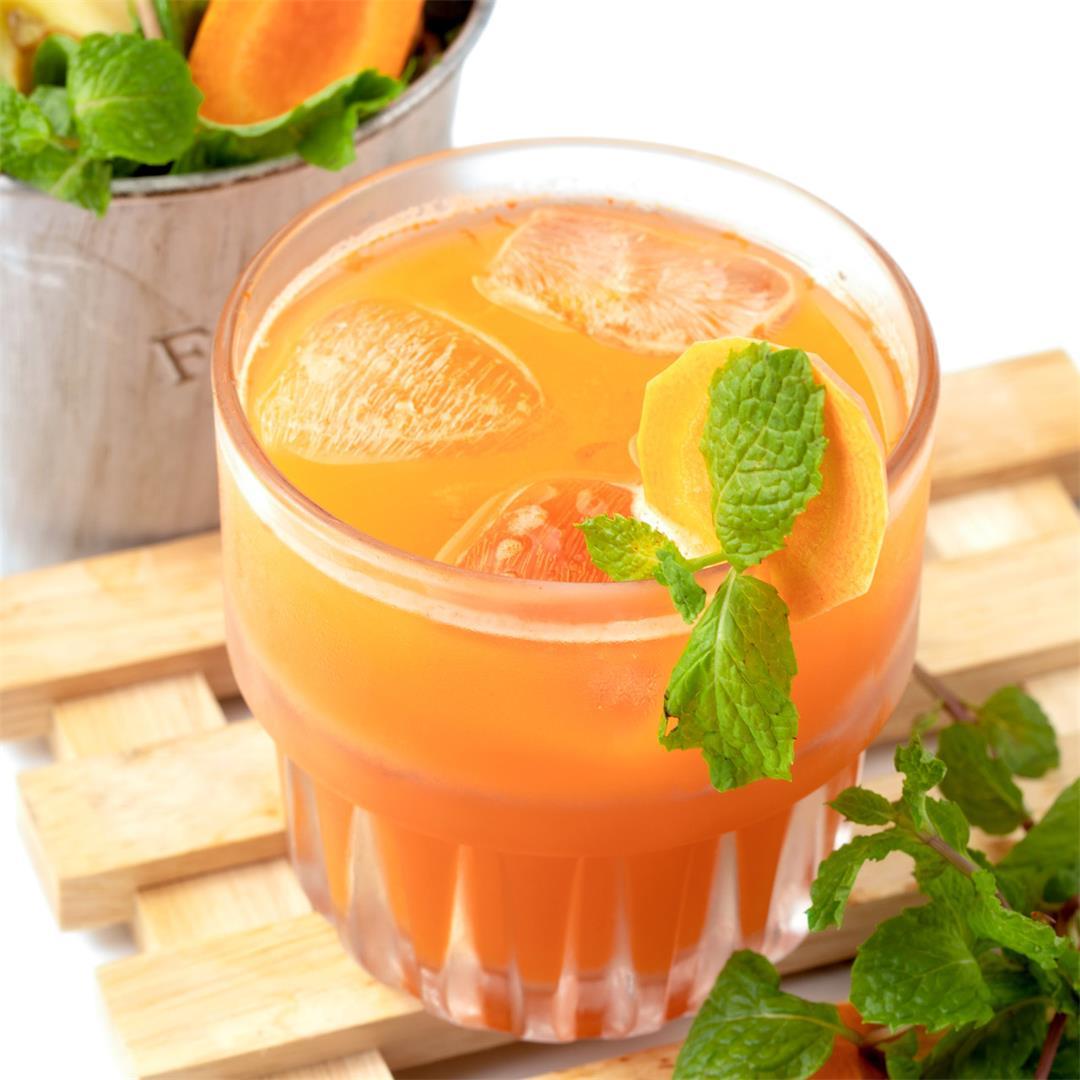 Carrot Apple Ginger Juice Recipe: Clean, Crisp, No Added Sugar