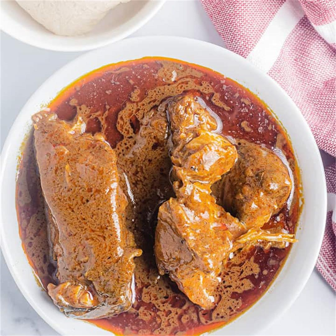 Banga Soup (Palm Nut Soup)