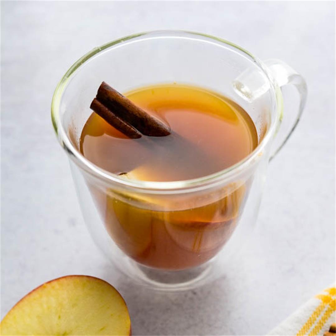 Quick & Easy Spiced Apple Cider Tea