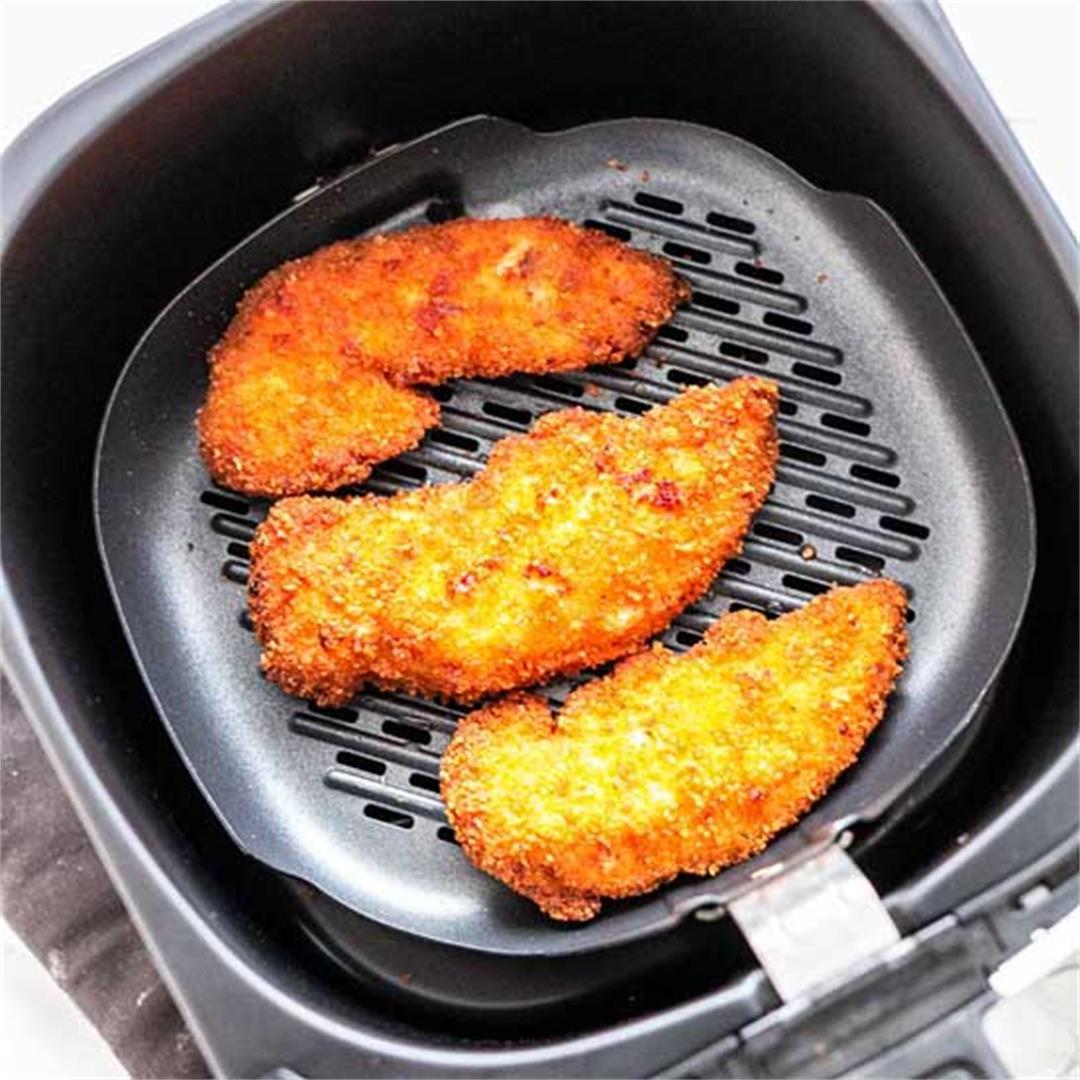 Air Fryer Breaded Chicken