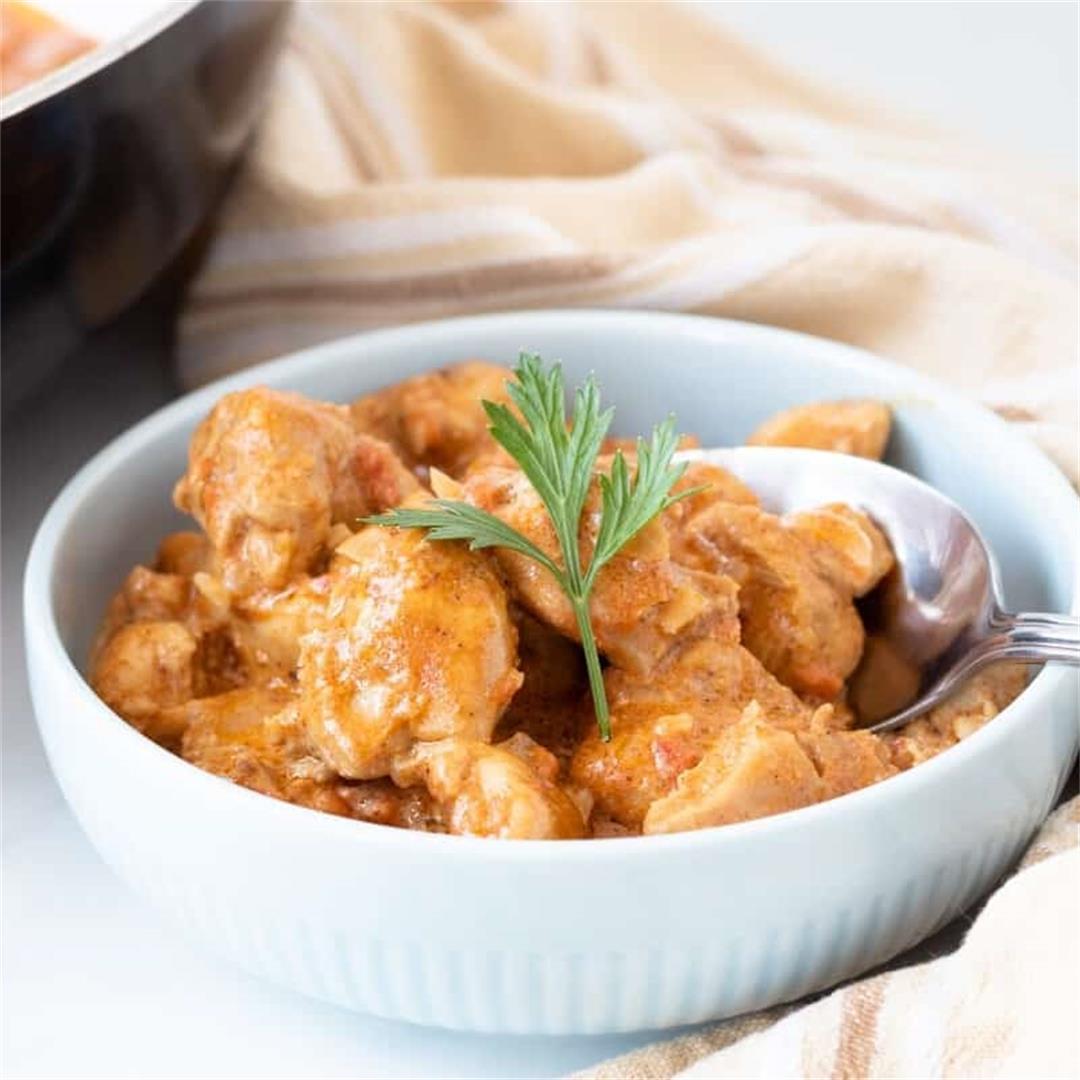 Keto Butter Chicken