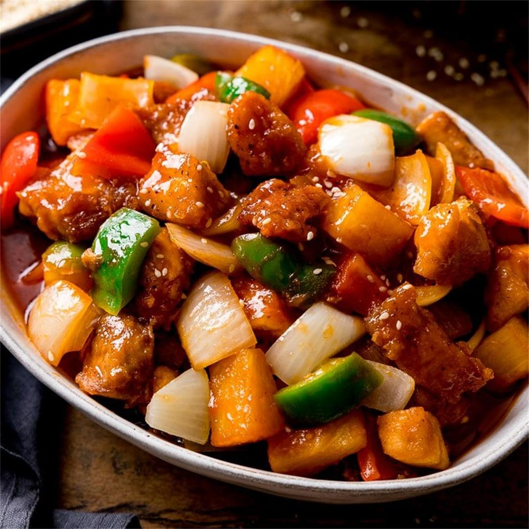 Sweet and Sour Turkey