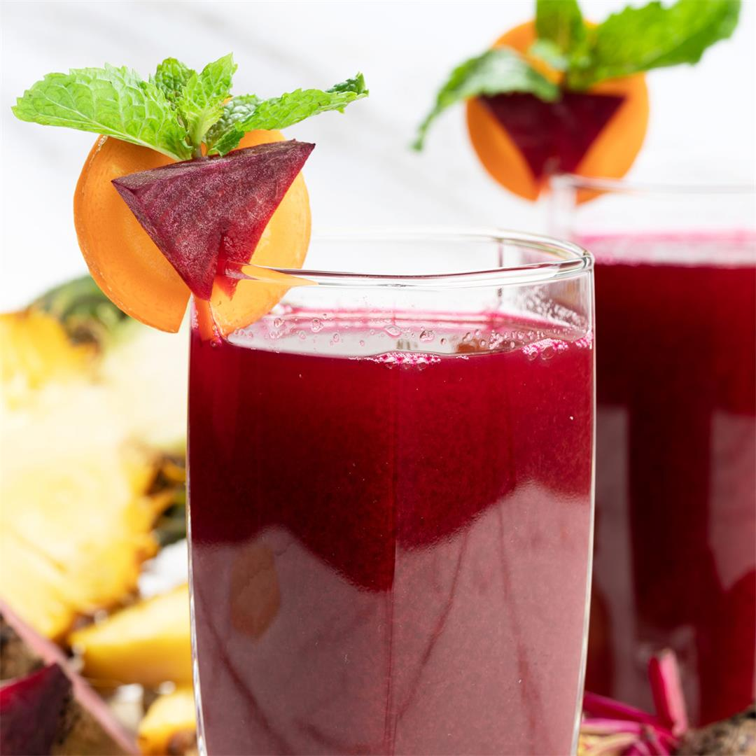 Carrot Beet Juice Recipe: A Healthy Beverage to Promote Heart H