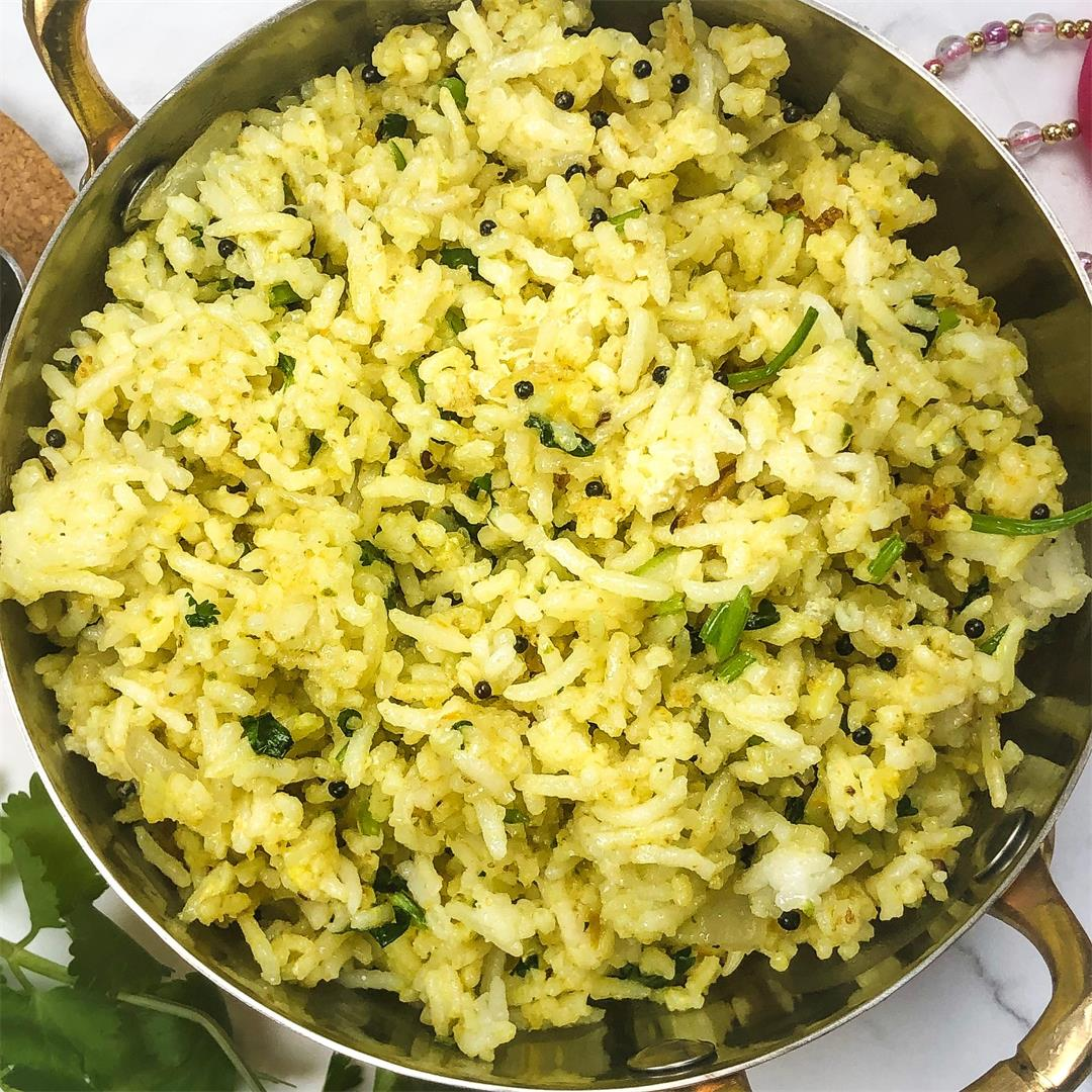 Traditional Indian Fried Rice