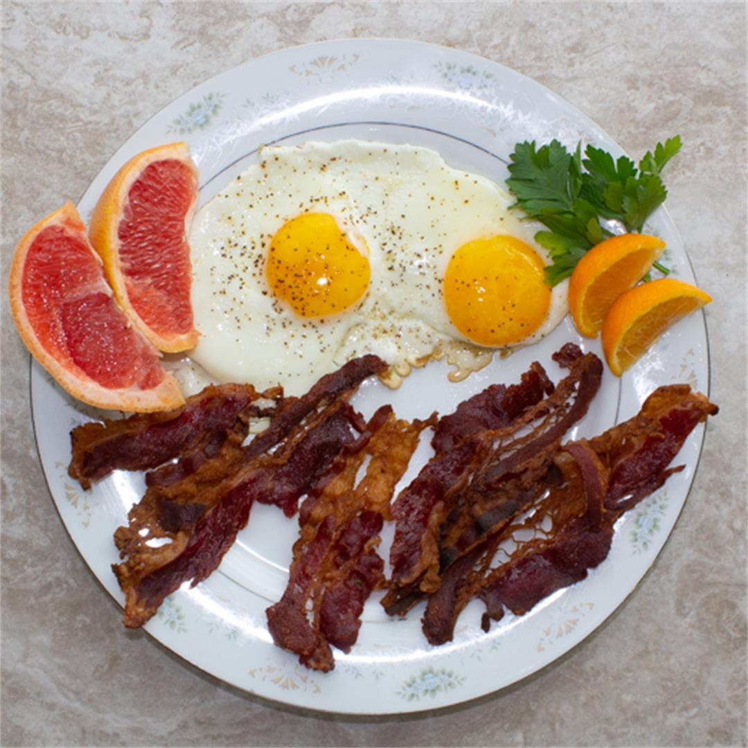 Kosher Bacon And Eggs