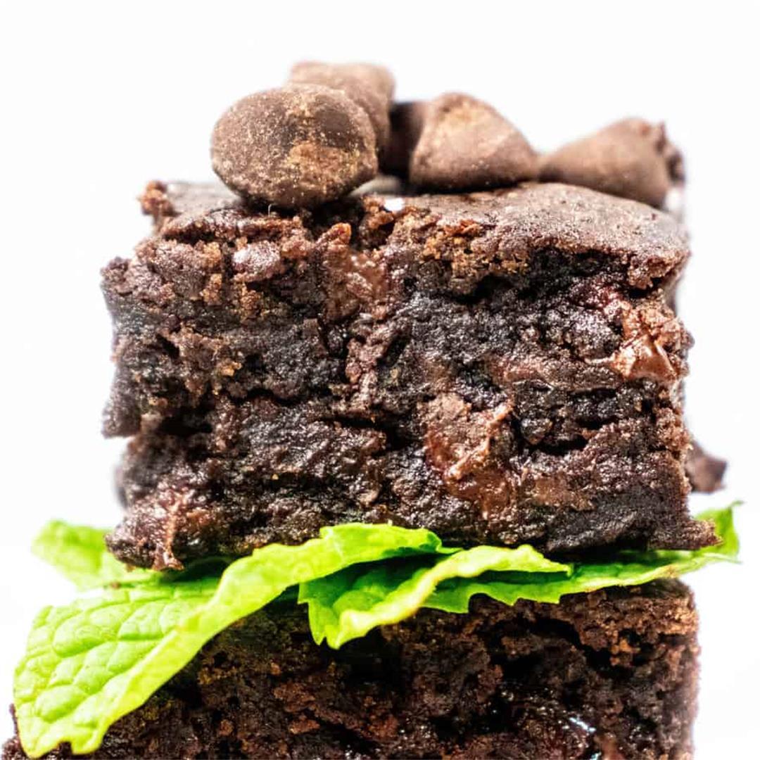 Gluten-free and Allergen-friendly  Chocolate Chip Brownies