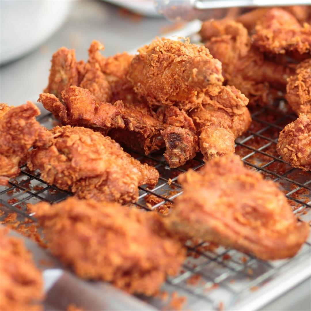 Fried Chicken Recipe Inspired by Church's Chicken