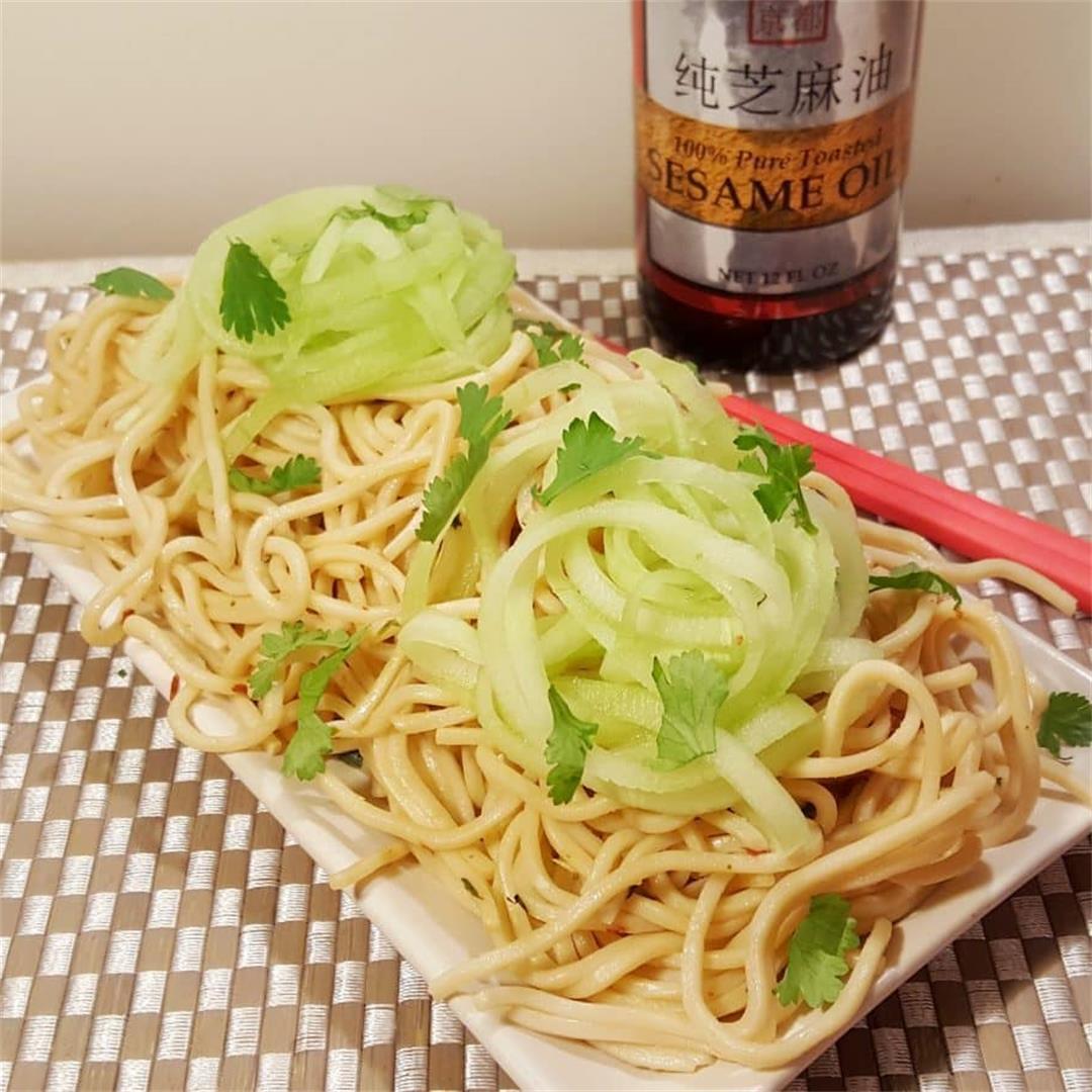 Pressure Cooker P.F. Chang's Garlic Noodles (Instant Pot)
