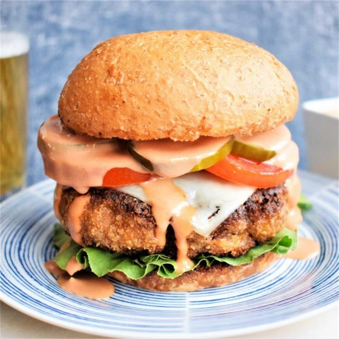 Chicken-Fried Burgers