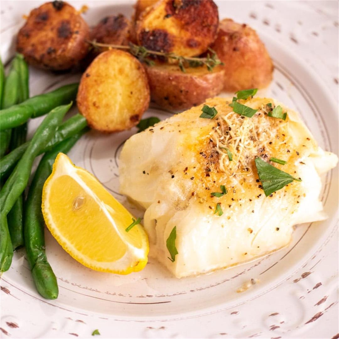 Oven-Baked Fish (with Lemon)