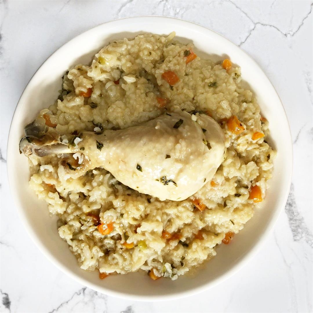 Guilt-free and Nutritious Bone Broth Porridge | Baby Food