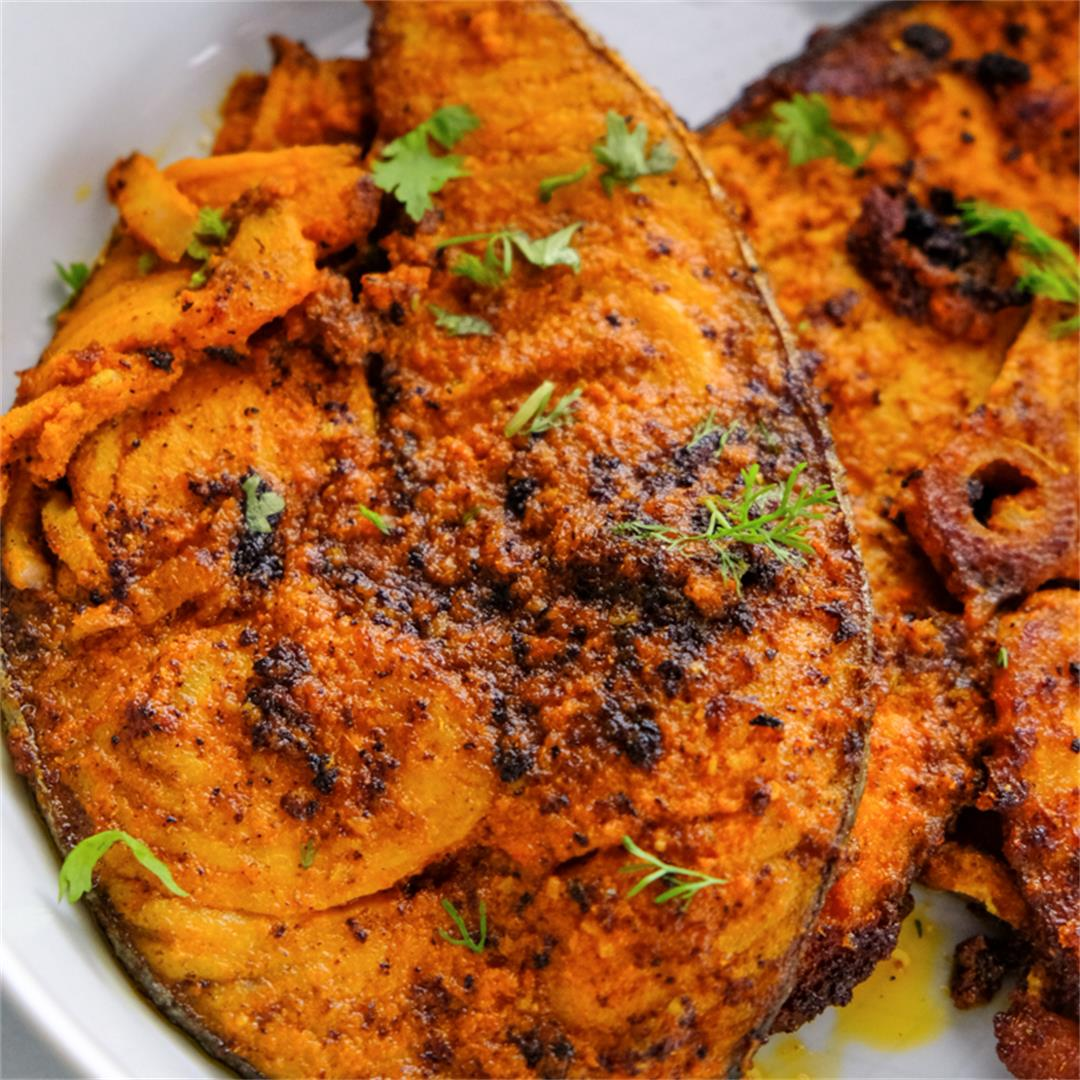 Chettinad Seer Fish Fry