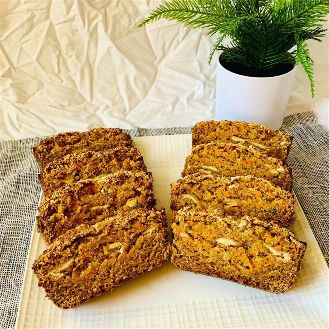 Sweet Potato Carrot Bread
