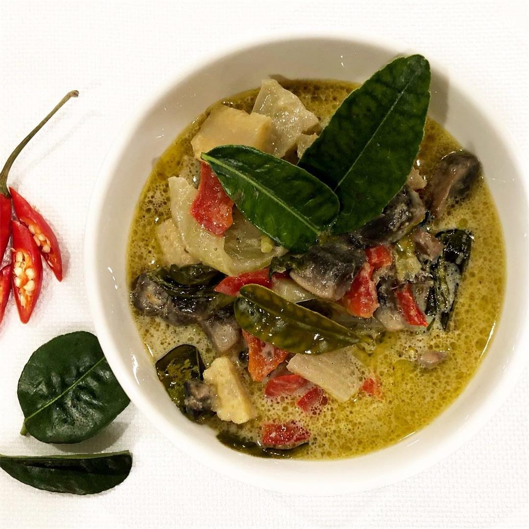 Easy Vegetarian Thai Green Curry