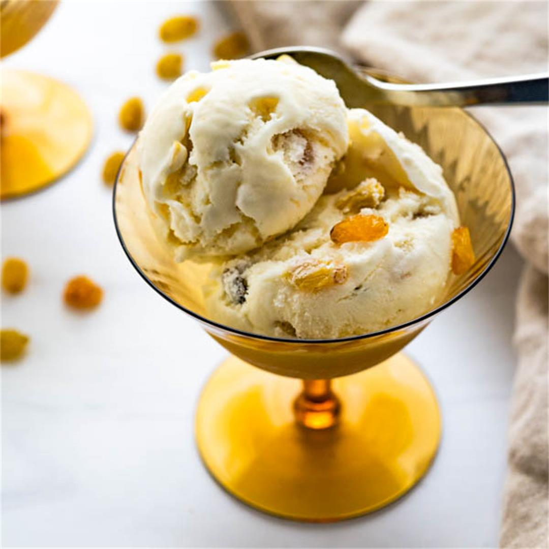 Legendary Rum Raisin Ice Cream