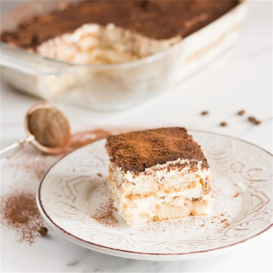 Easy Tiramisu Without Raw Eggs