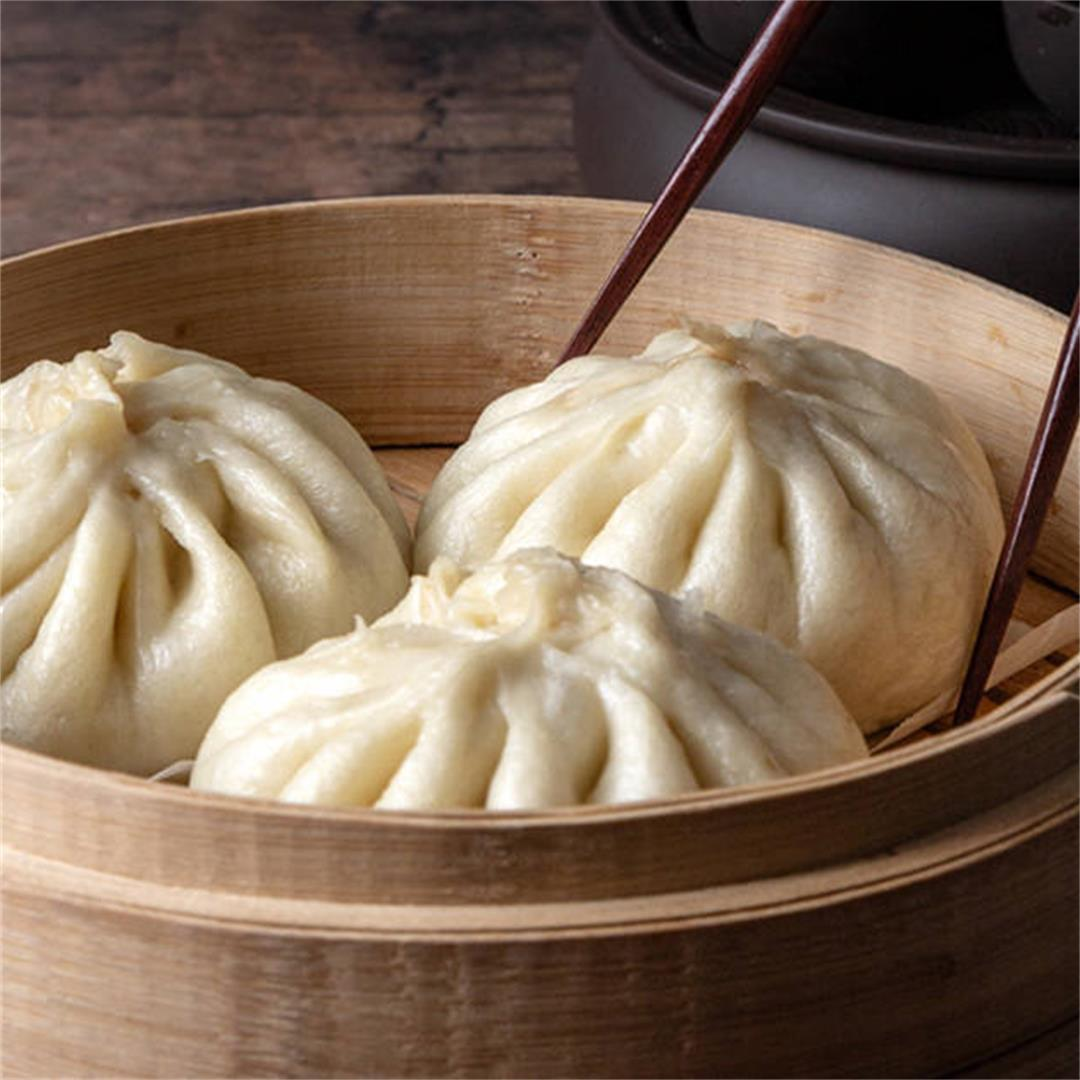Instant Pot Bao (Chinese Steamed Buns 鮮肉包子)