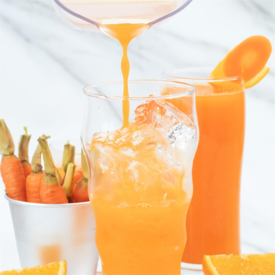 Carrot Orange Juice Recipe - A Simple Summer Drink Full of Vita