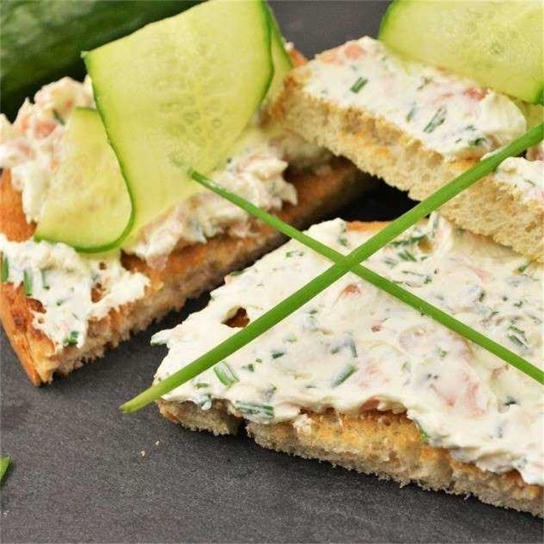 Best Smoked Salmon Cream Cheese Recipe-Perfect Aperitif