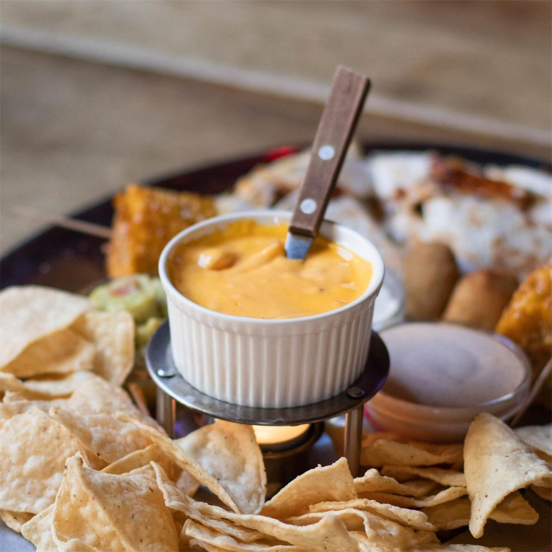 Extra Cheesy Hot Nacho Dip (GF, V)