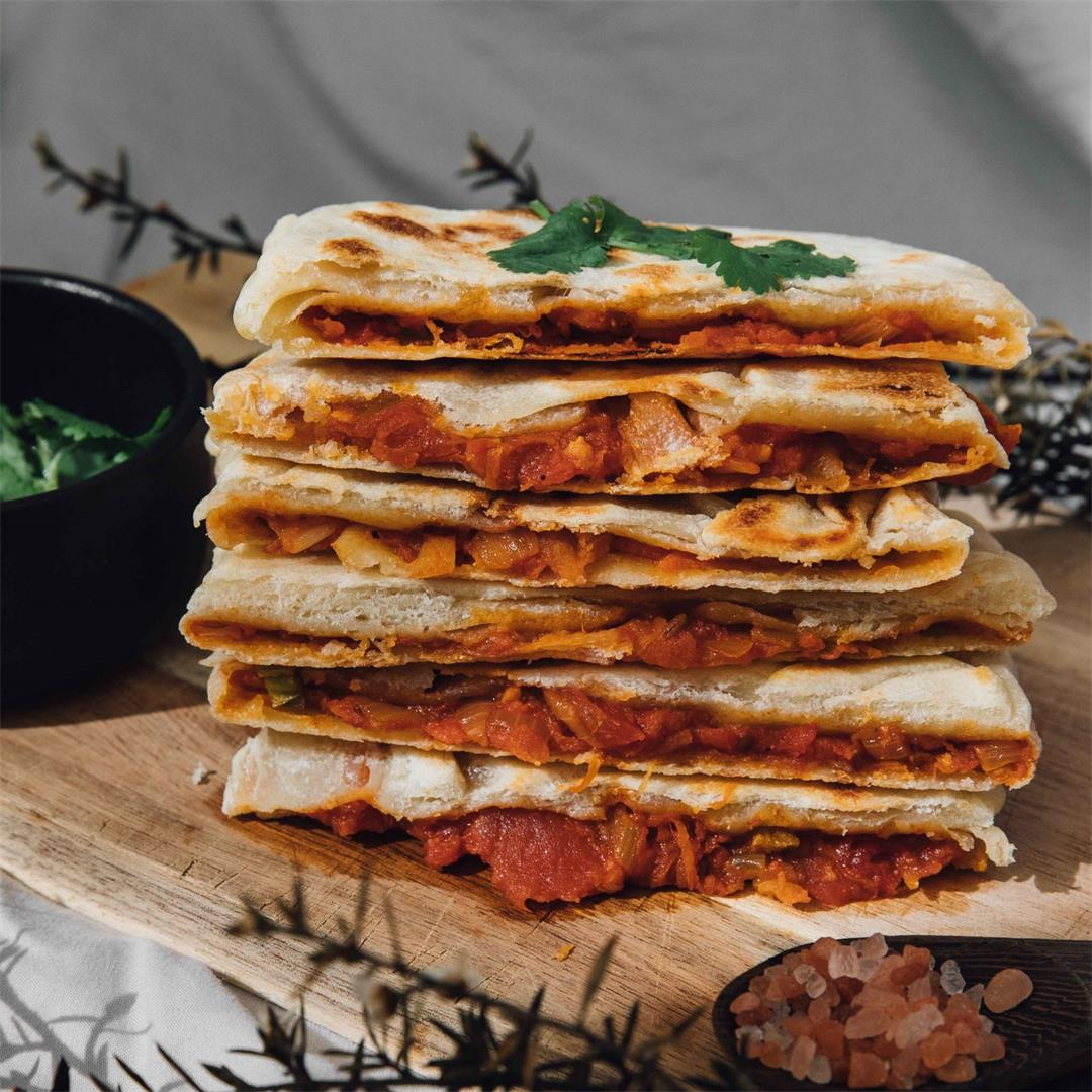 Savory Stuffed Crepes (Mahjouba)
