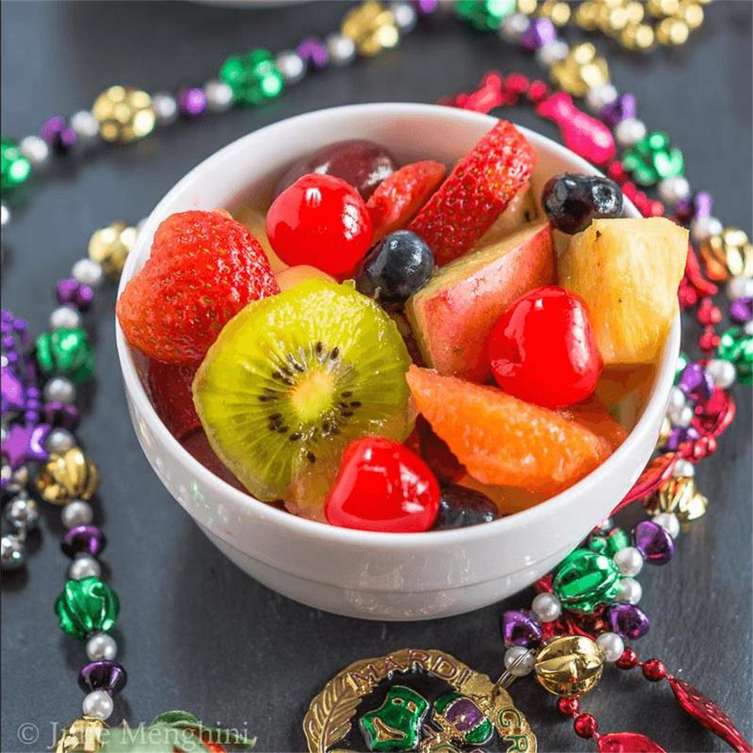 Boozy Hurricane Fresh Fruit Salad Recipe