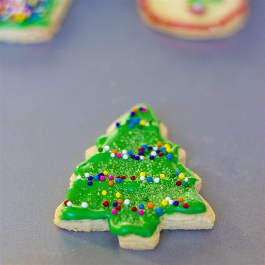 The Best Cut Out Sugar Cookies