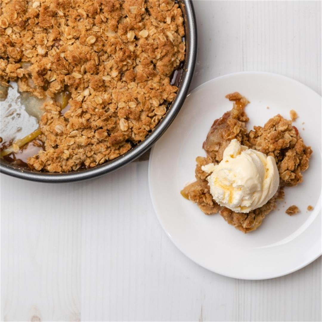 Grandma's Best Old-Fashioned Apple Crisp (with GF/DF Options)