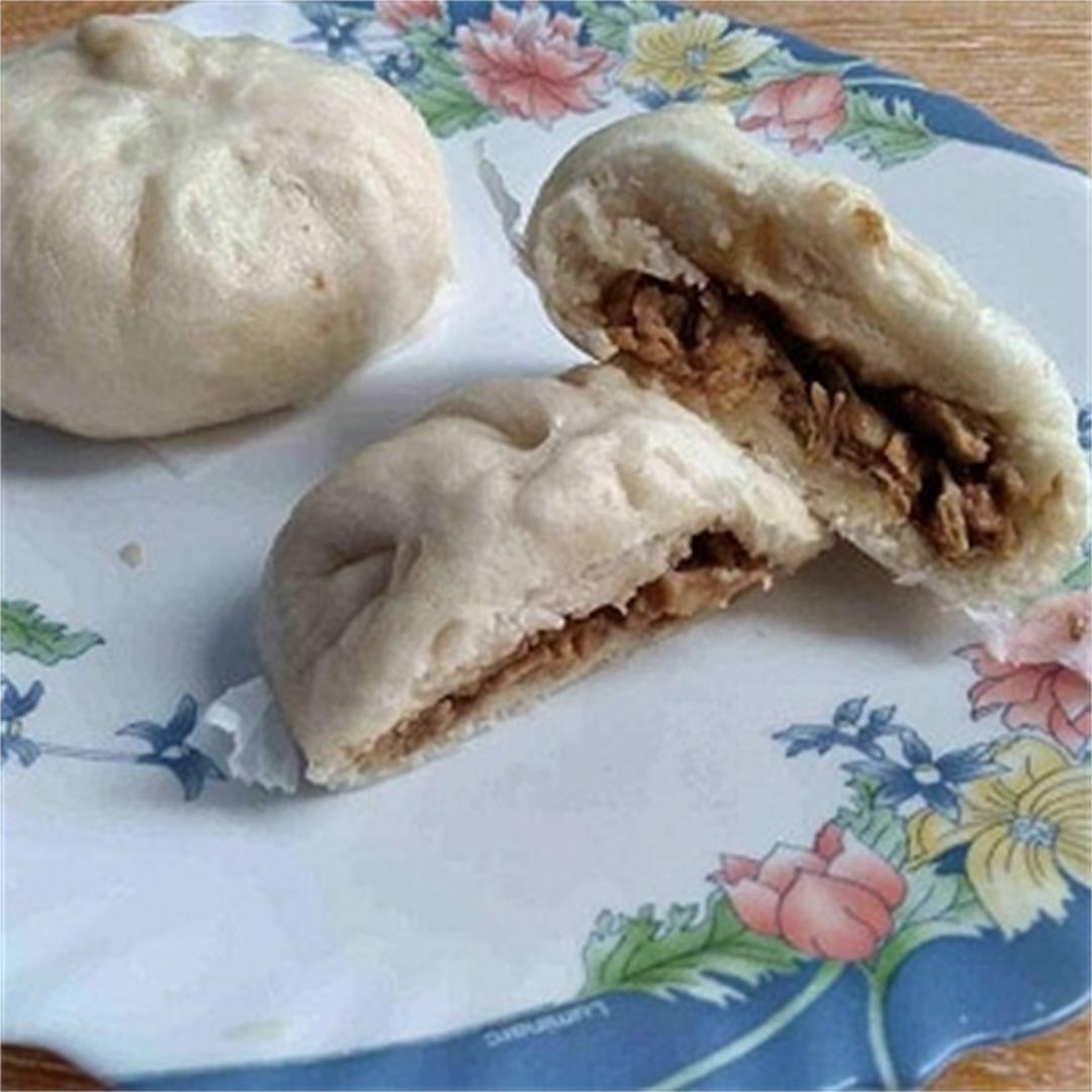 Chicken Siopao Asado