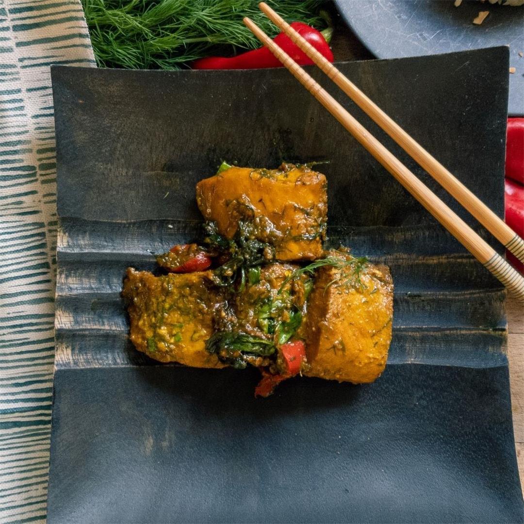 Vietnamese Turmeric Dill Fish