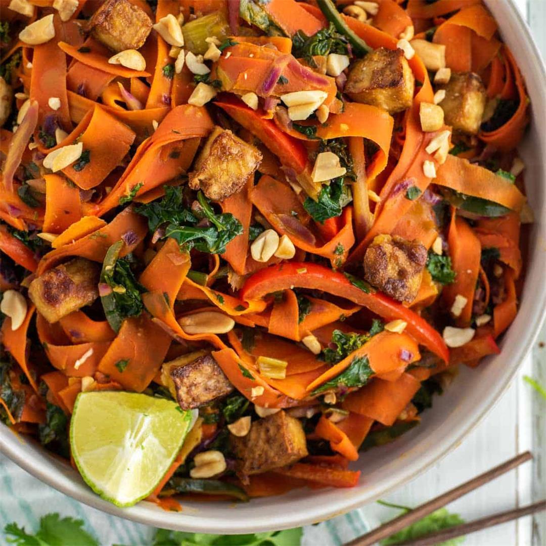 Vegetable Pad Thai (Noodle-Free)
