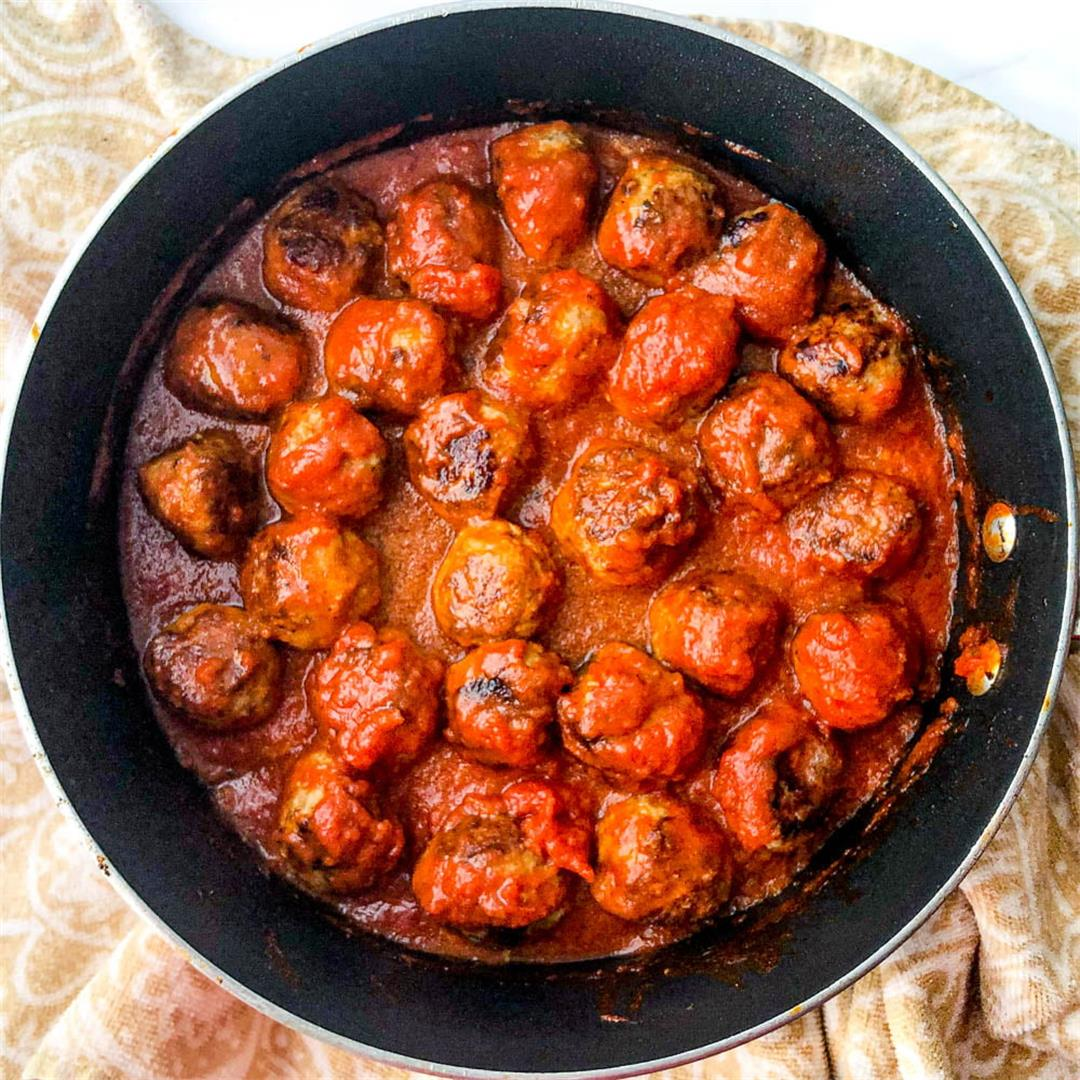 Keto Turkey Meatballs Recipe