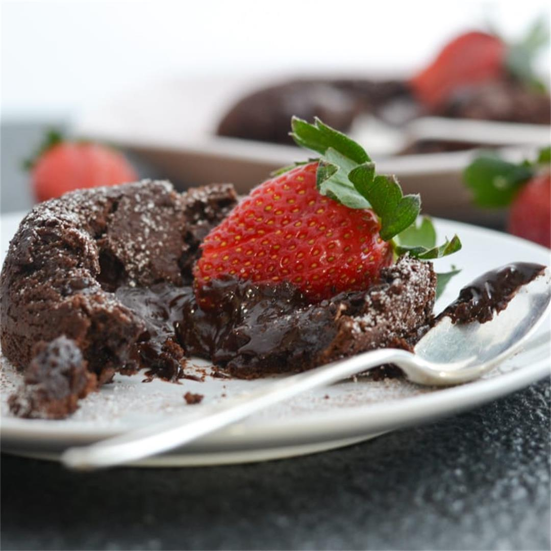 Molten Lava Cakes for Two