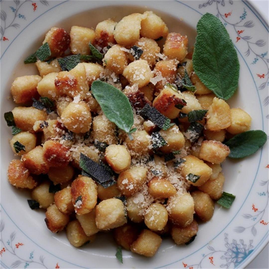 Lemony gnocchi with sage – Get summery gnocco by gnocco