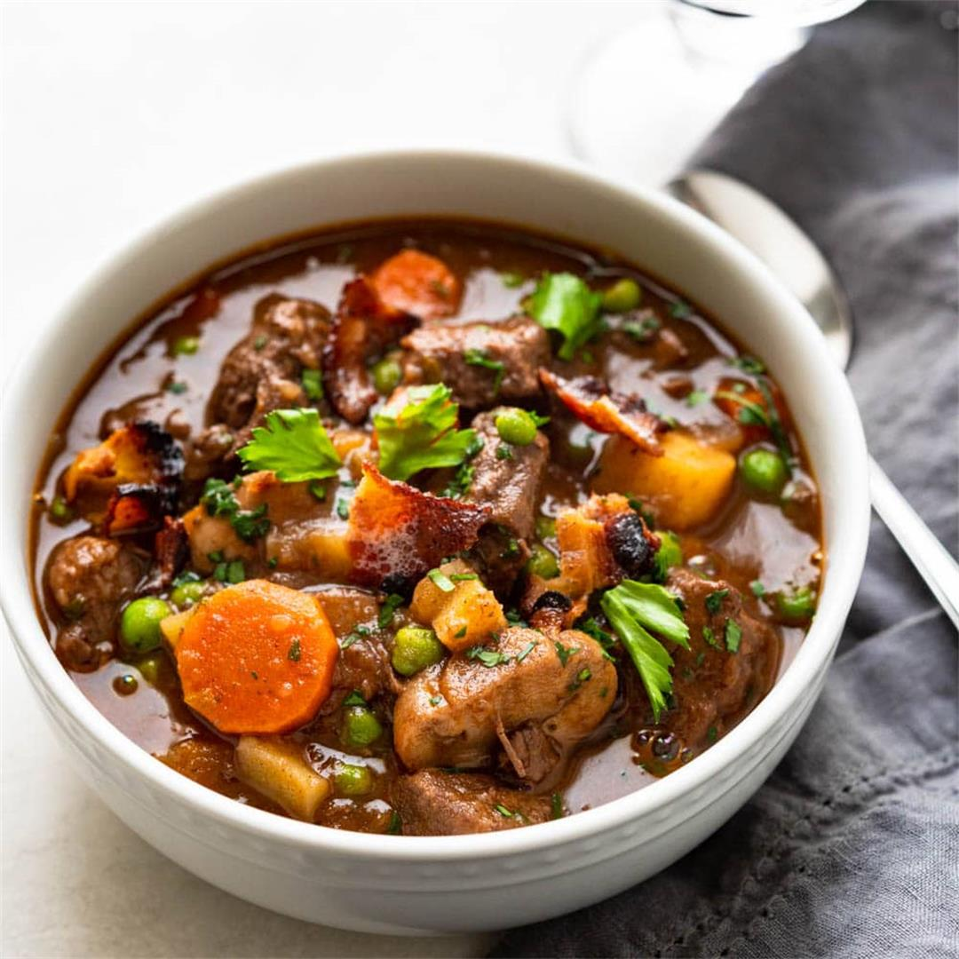 The Dutch Oven Beef Stew With Red Wine You'll Crave