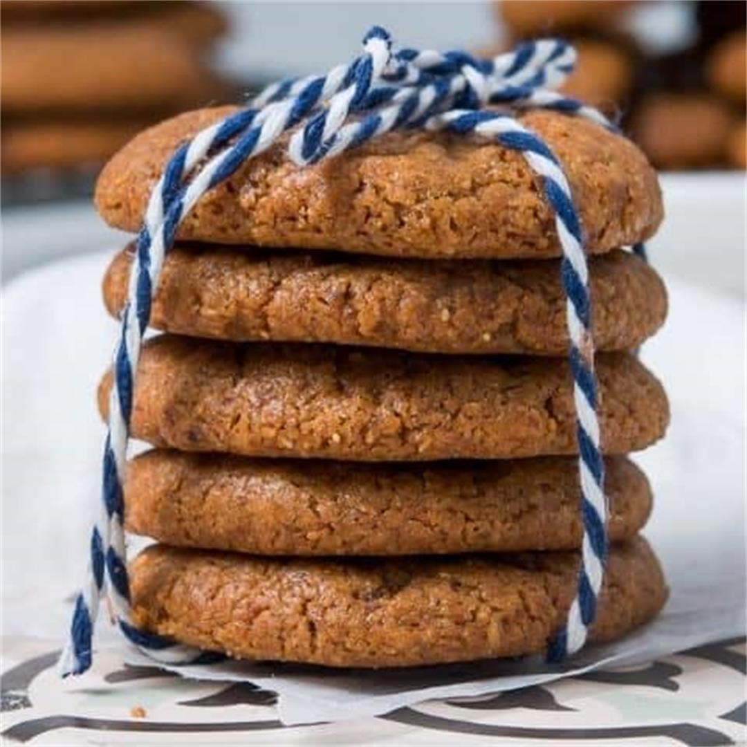 Flourless Almond Butter Cookies