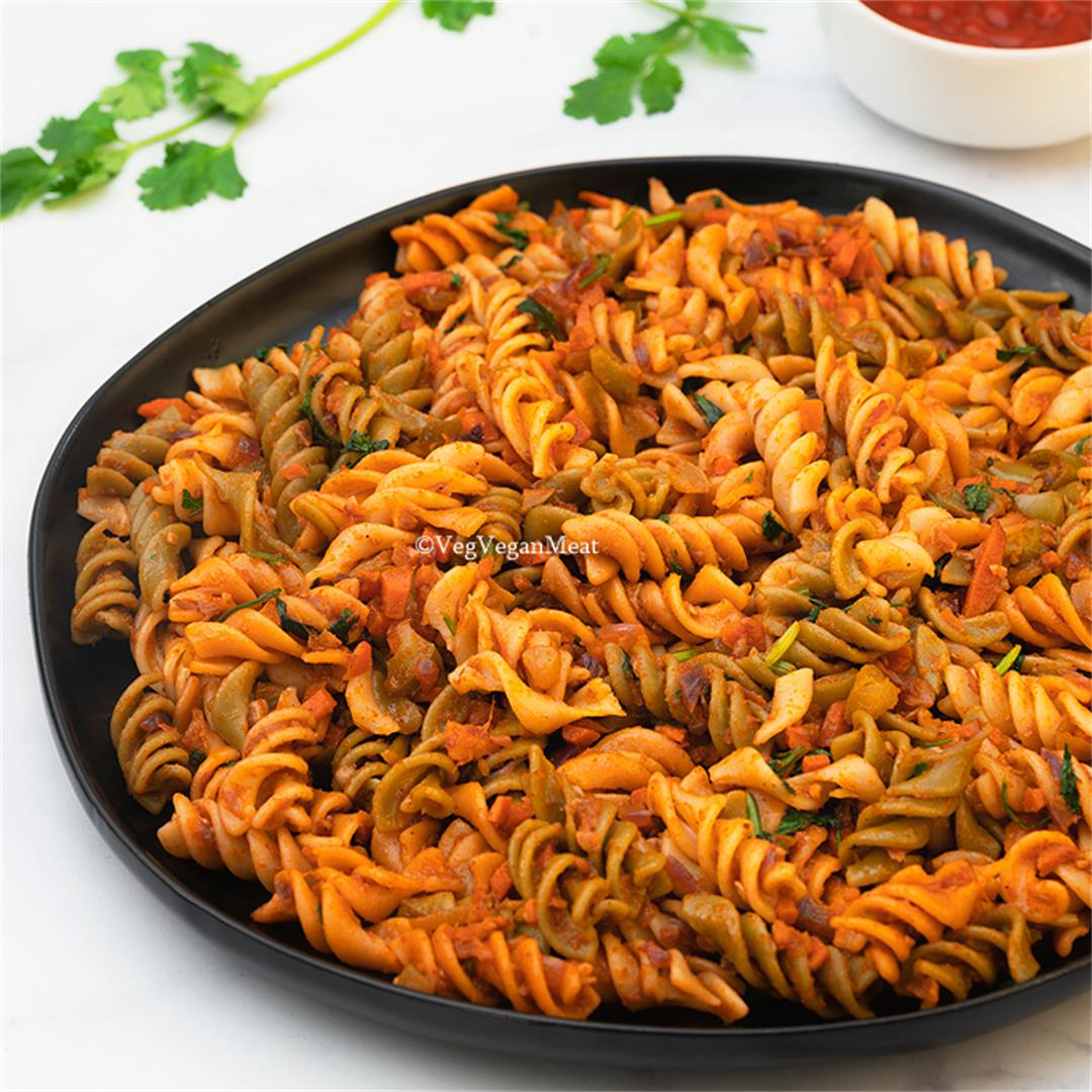 Vegetable Masala Pasta