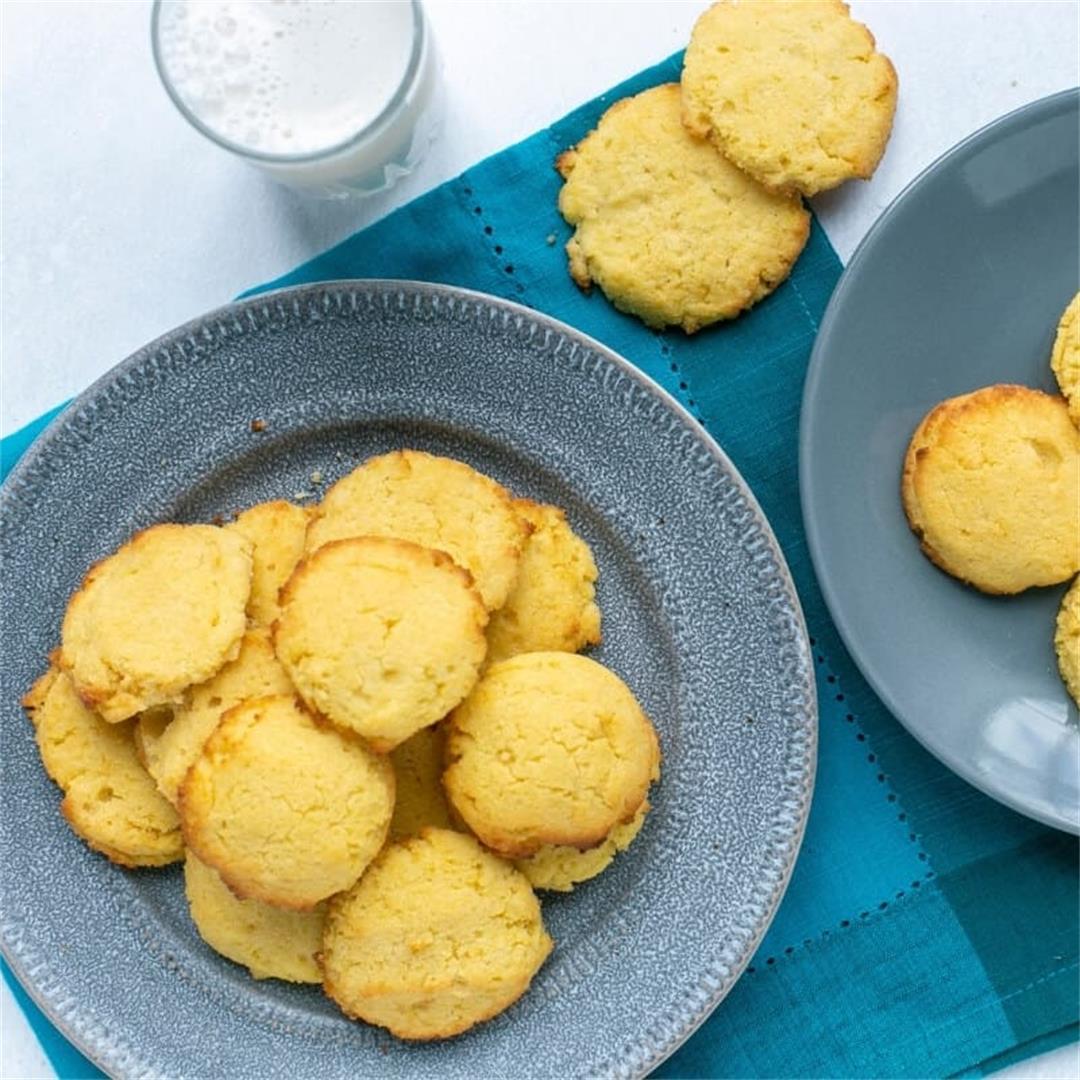 Coconut Flour Cookies (Keto, Low Carb, Gluten Free)