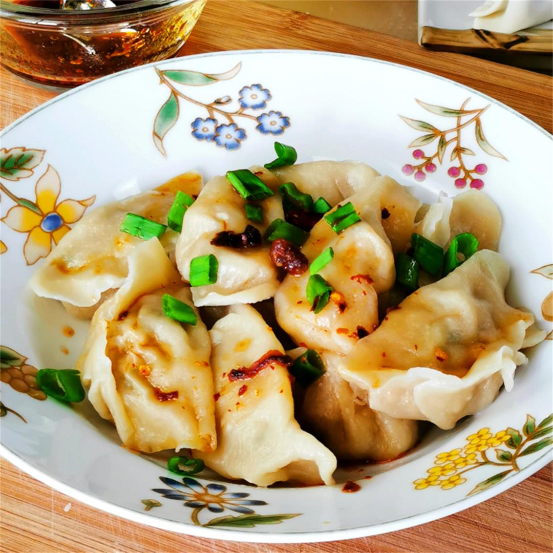 Chinese dumplings 饺子- How to make it from scratch