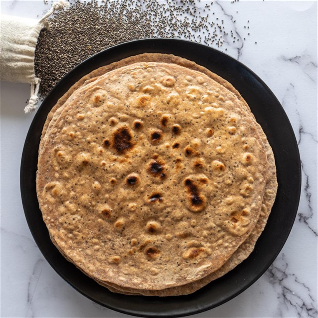 Chia Chapati Recipe