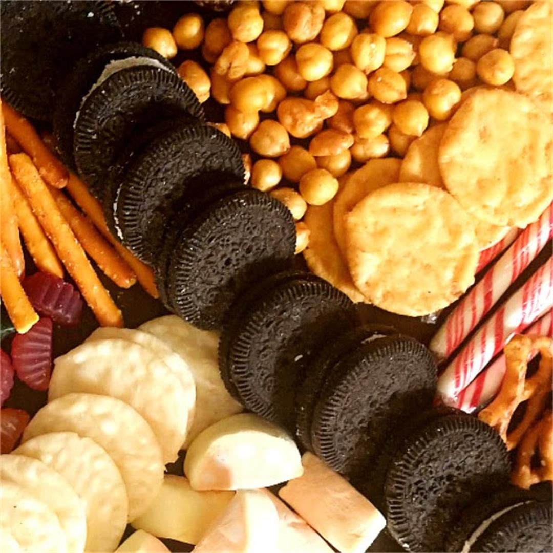 Allergy Friendly Snack Board