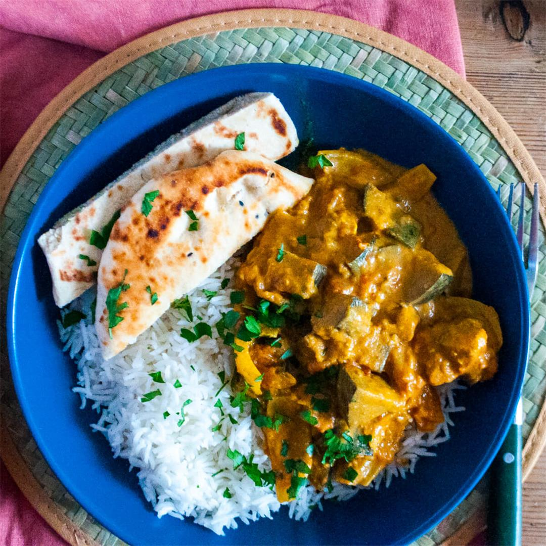 Aubergine Curry