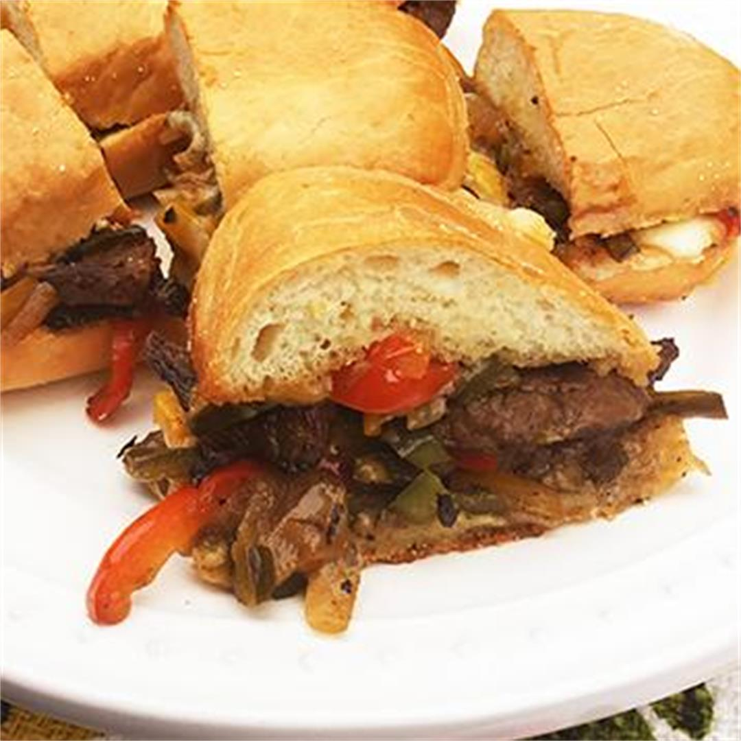 Wagyu Cheesesteak Sandwiches