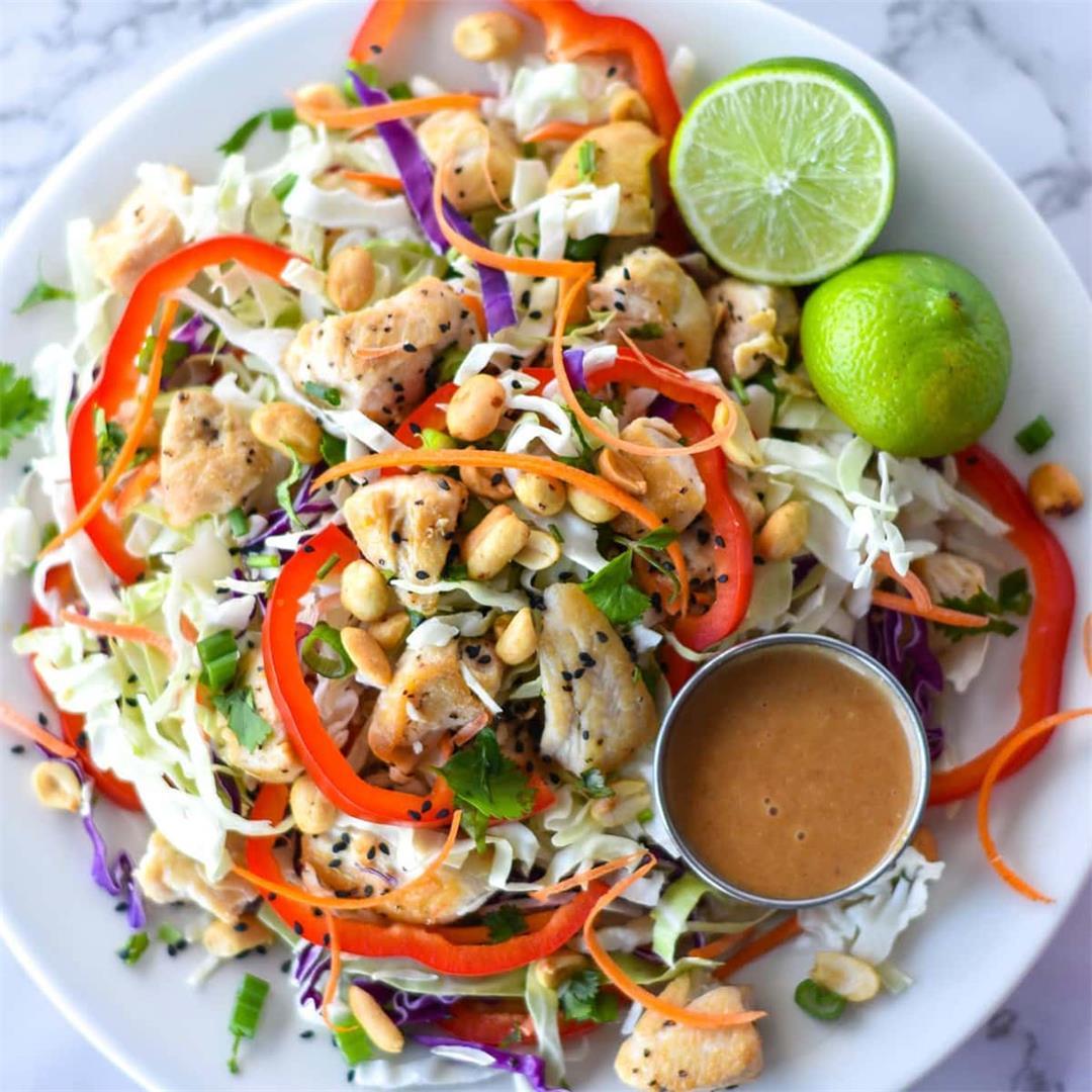 Spicy Thai Chicken Salad — Foodborne Wellness