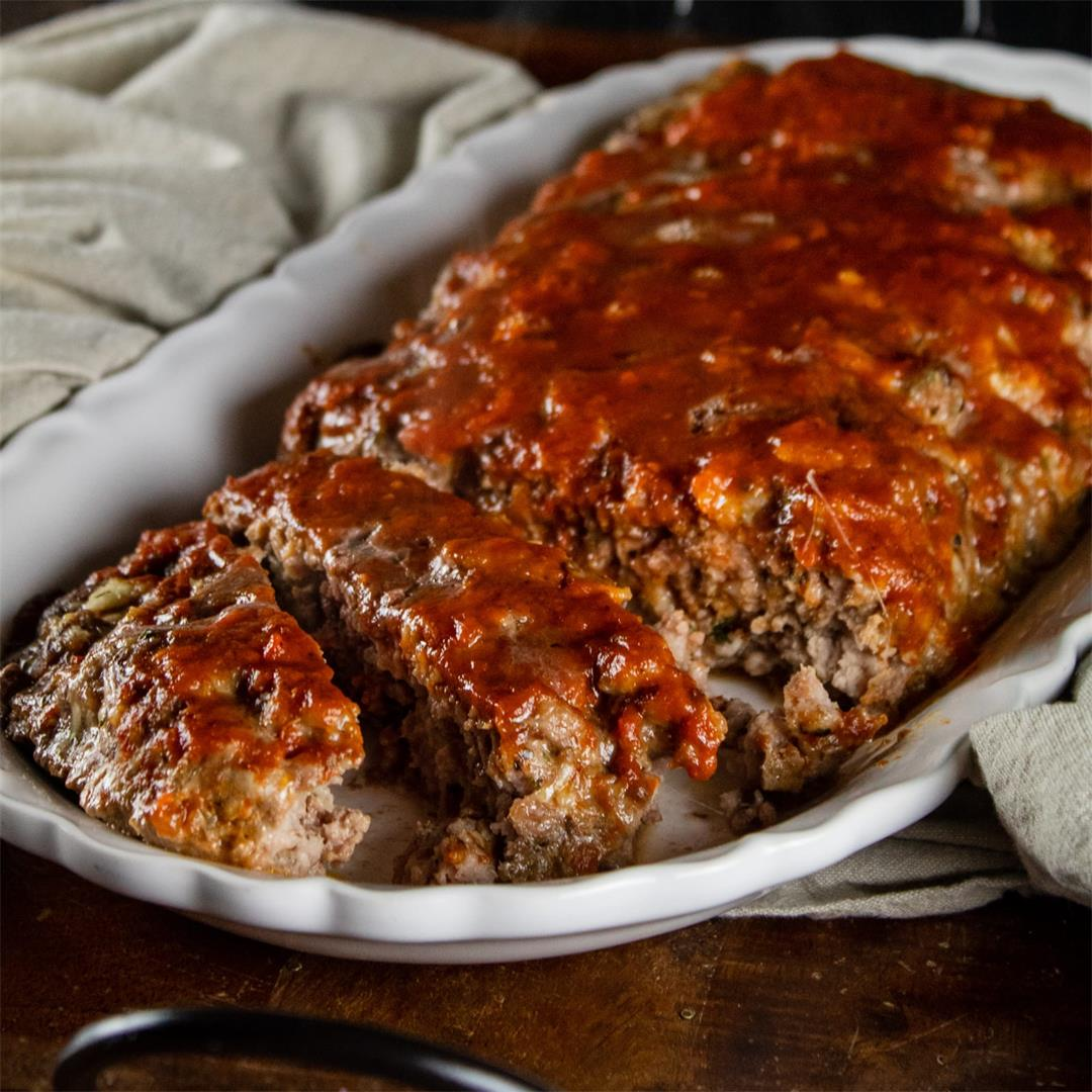 Italian Style Meatloaf with Marinara