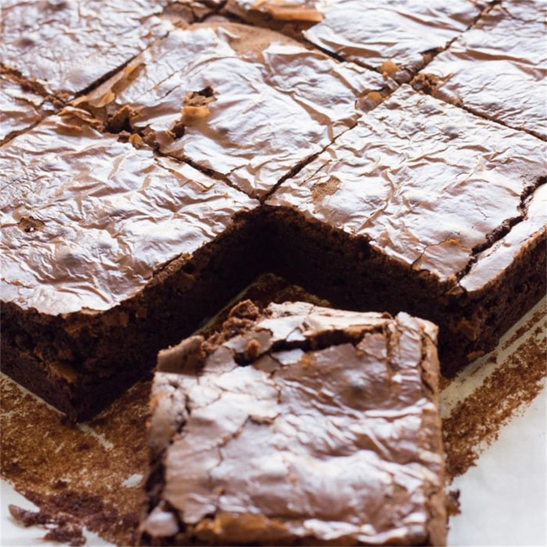 Classic Homemade Brownies From Scratch