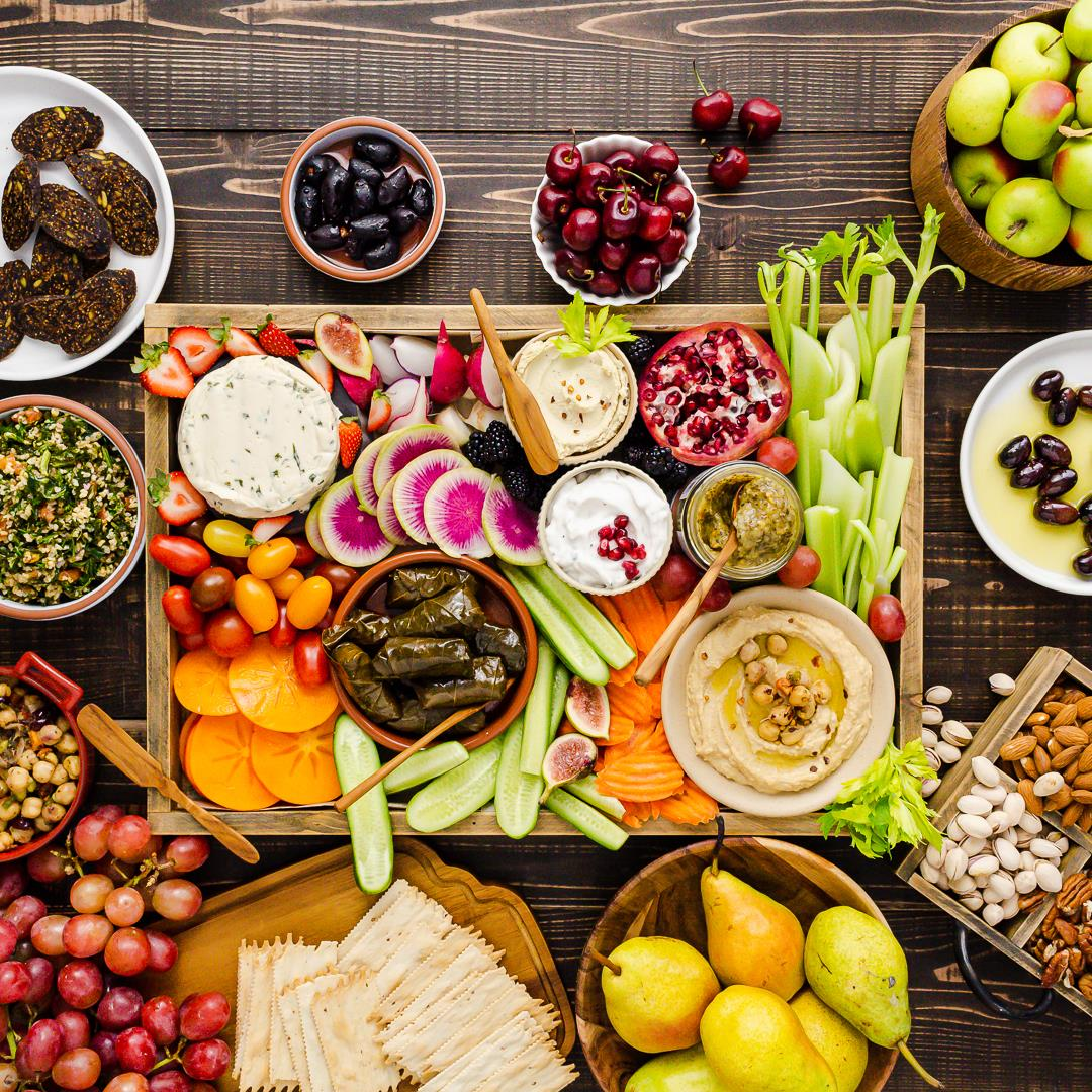How to Make a Vegan Appetizer Board