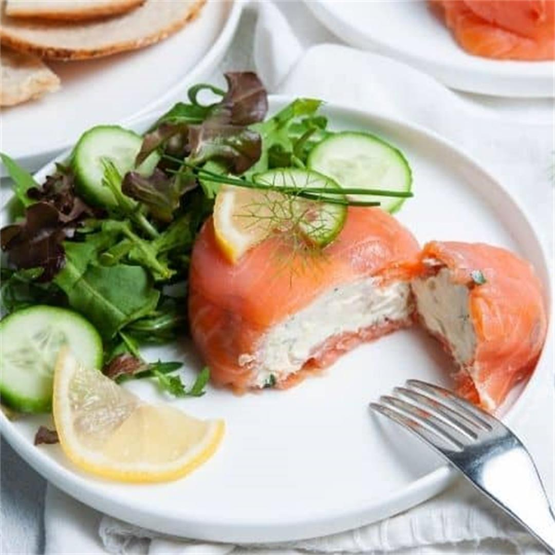 Smoked Salmon Parcels