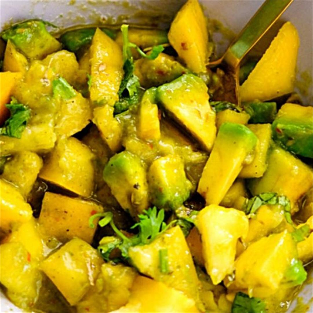 Mango Salsa with Two Dressing!